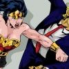 Superheroes Punching Trump