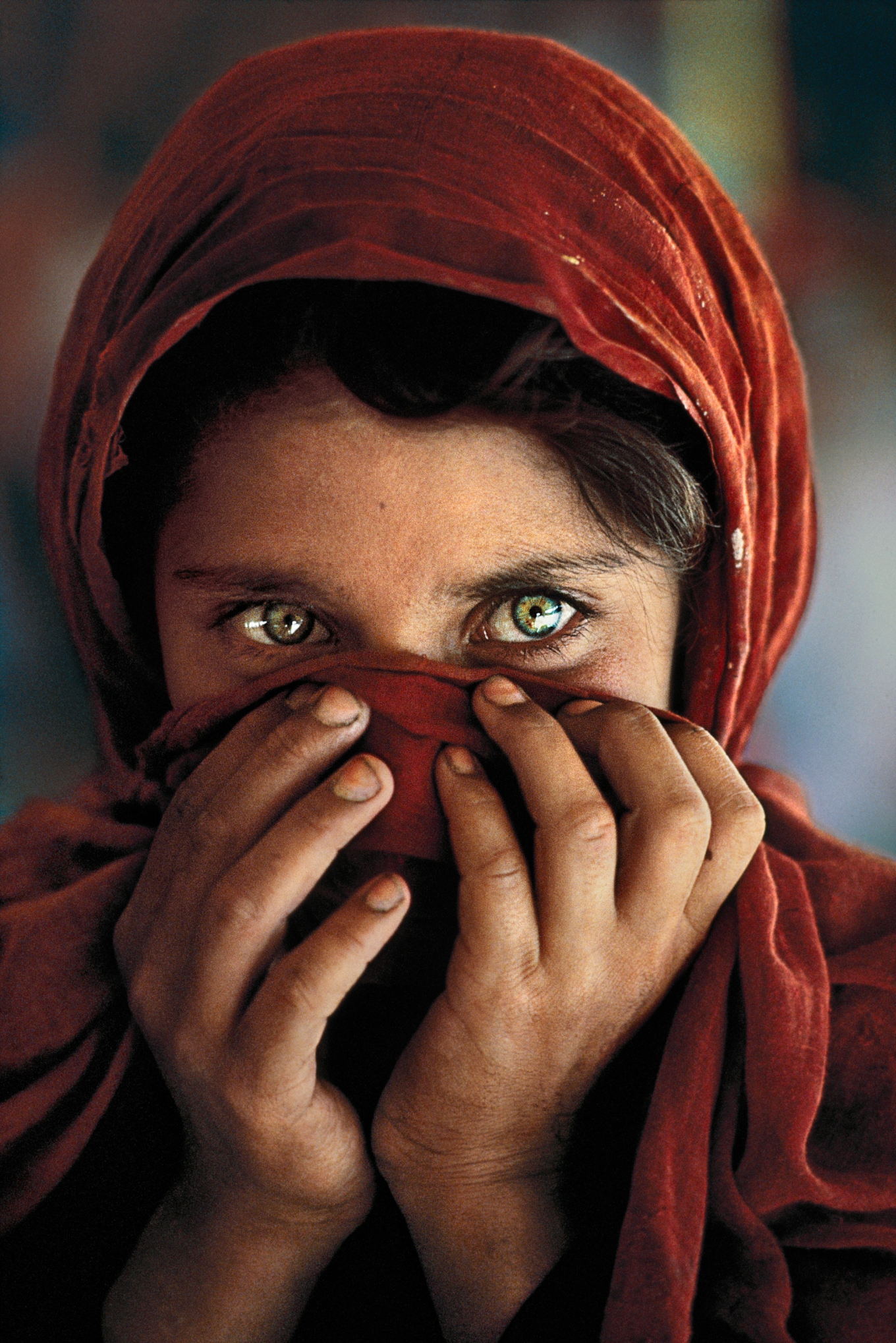 Afghan Girl (Portrait of Sharbat Gula, 1984) – Photo: Steve McCurry for National Geographic
