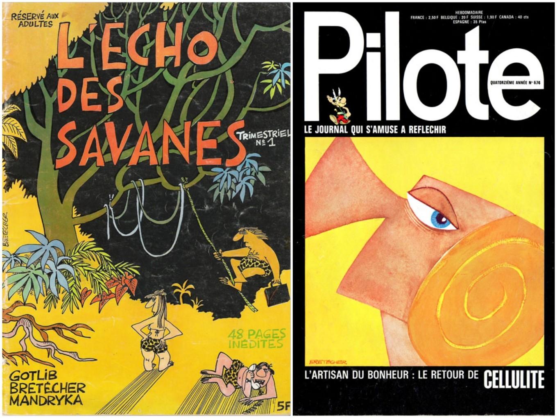 L'Écho des Savanes + Pilote